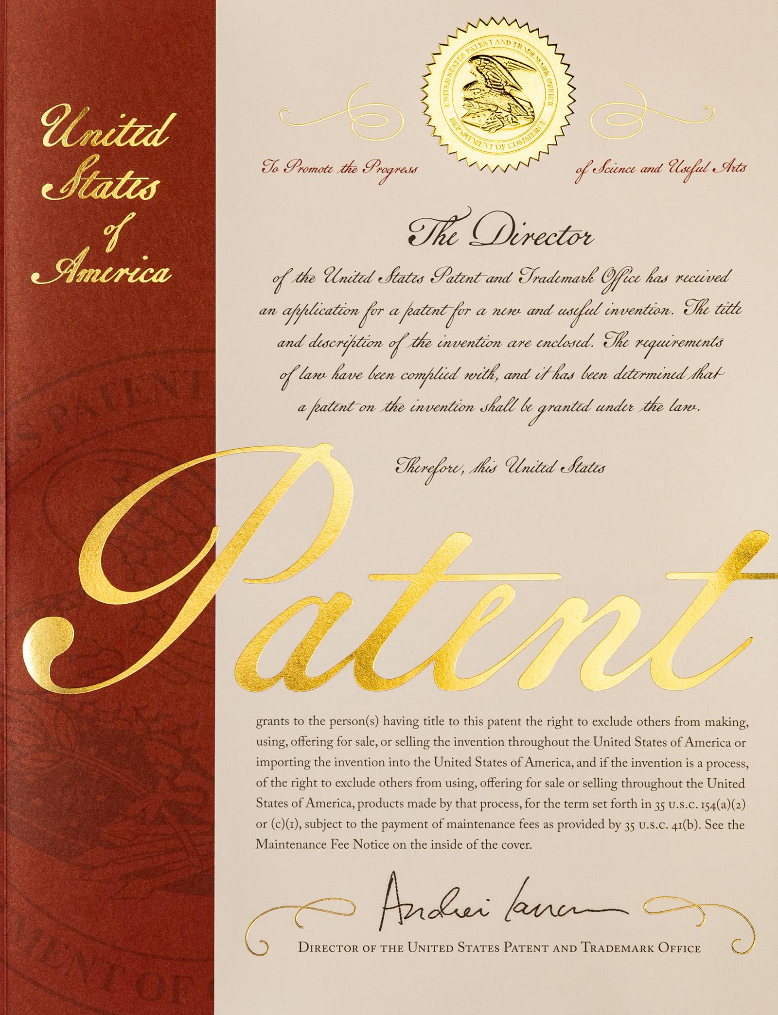 10 millionth u s patent issues today mintz